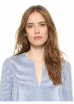 Marvelous Straight Remy Human Hair Lace Front Wig