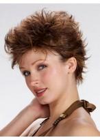 Modern Short Wavy Full Lace Wig