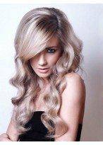 Elegant Wavy Synthetic Lace Front  with Mono Wig