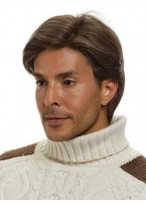 Short Full Lace Human Hair Wig For Man