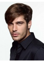 Comfortable Men's Full Lace Human Hair Wig