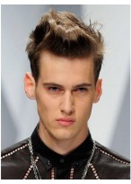 Cool Hairstyle Full Lace Mens Wig