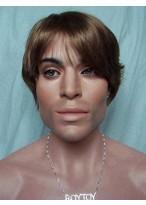 Impressive Short Straight Synthetic Mens Wig