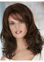 Shoulder Length Wavy Lace Front Wig