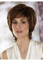 Cropped Layered Synthetic Wig