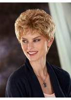 Classic Slightly Waves Short Synthetic Wig