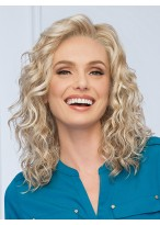 Blonde Wavy Synthetic Wig