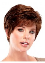 Elegant Layered Pixie Synthetic Wig
