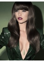 Prevailing Wavy Synthetic Capless Wig