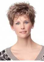 Attractive Short Capless Synthetic Wig