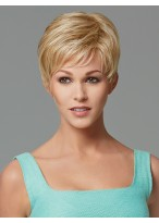 Lovely Short Capless Synthetic Wig