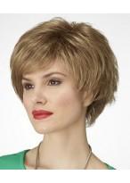 Soft Stylish Wavy Women Synthetic Wig