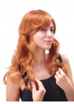 Attractive Long Wavy Capless Synthetic Wig