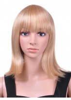 Glamorous Medium Straight Capless Wig
