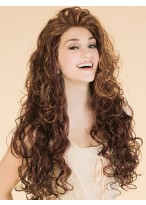 Deep Wavy Elegant Long Synthetic Wig