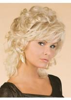 Medium Charming Synthetic Capless Wavy Wig