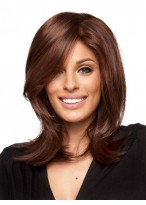 Beautiful Straight Lace Front Mono Top Synthetic Wig