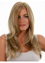 Nice Long Lace Front Mono Top Synthetic Wig