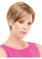 Modern Lace Front Short Synthetic Wig