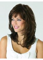 Smooth Wavy Short Synthetic Capless Wig