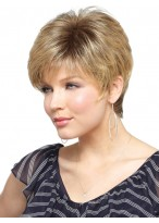 Pretty Capless Short Length Synthetic Wig