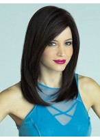 Attractive Synthetic Lace Front Straight Wig