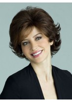 Popular Synthetic Wavy Short Length Capless Wig