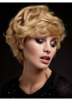 Elegant Lace Front Wavy Synthetic Wig