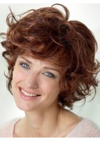 Wavy Short Length Synthetic Lace Front Wig
