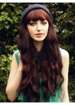 Stylish Capless Long Wavy Synthetic Wig