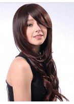 New Style Capless Wavy Long Synthetic Wig