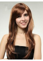 Stunning Long Capless Straight Synthetic Wig