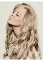 Marvelous Lace Front Long Wavy Synthetic Wig