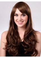 Comfortable Wavy Long Capless Synthetic Wig