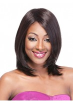Comfortable Straight Capless Synthetic Wig