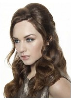 Fashionable Long Lace Front Wavy Synthetic Wig