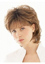 Shoulder Length Layered Synthetic Wig
