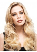 Classic Wavy Lace Front Synthetic Wig