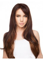 Chic Straight Lace Front Synthetic Wig
