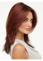Impressive Lace Front Straight Synthetic Wig