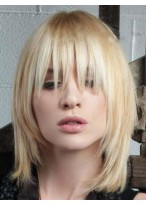 New Style Lace Front Straight Synthetic Wig