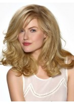 Fashionable Long Lace Front Synthetic Wig