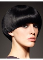 Cute Short Length Capless Synthetic Wig