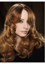 Fashionable Wavy Lace Front Synthetic Wig