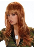 Wavy Capless Glamourous Synthetic Wig