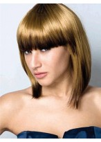 Polished Straight Capless Synthetic Wig
