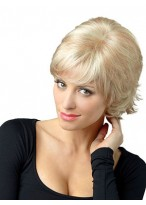 Smooth Straight Capless Synthetic Wig