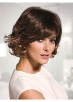 Striking Wavy Capless Synthetic Wig