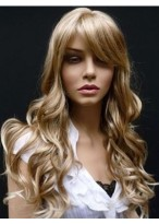 Classic Wavy Capless Synthetic Wig
