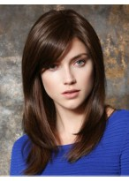 Stylish Straight Capless Synthetic Wig
